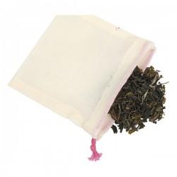 sachets thé réutilisables