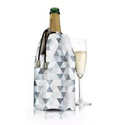 Refroidissement bouteille de champagne