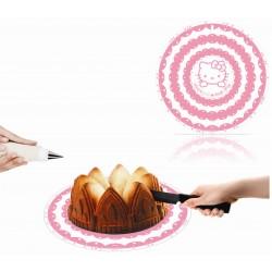 Diviseur de gâteau Hello Kitty